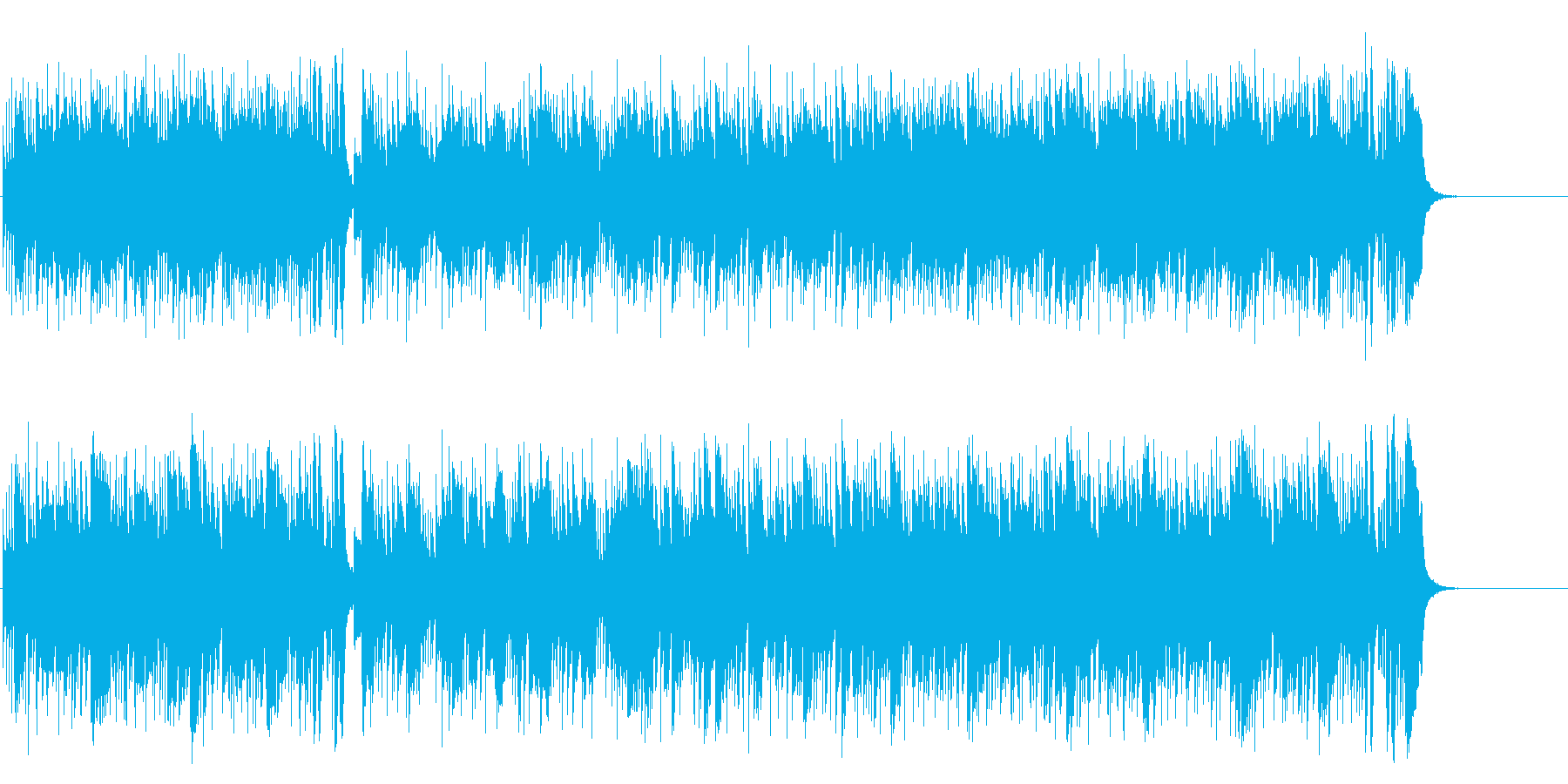 しなやかで力強いストレート・フュージョンの再生済みの波形