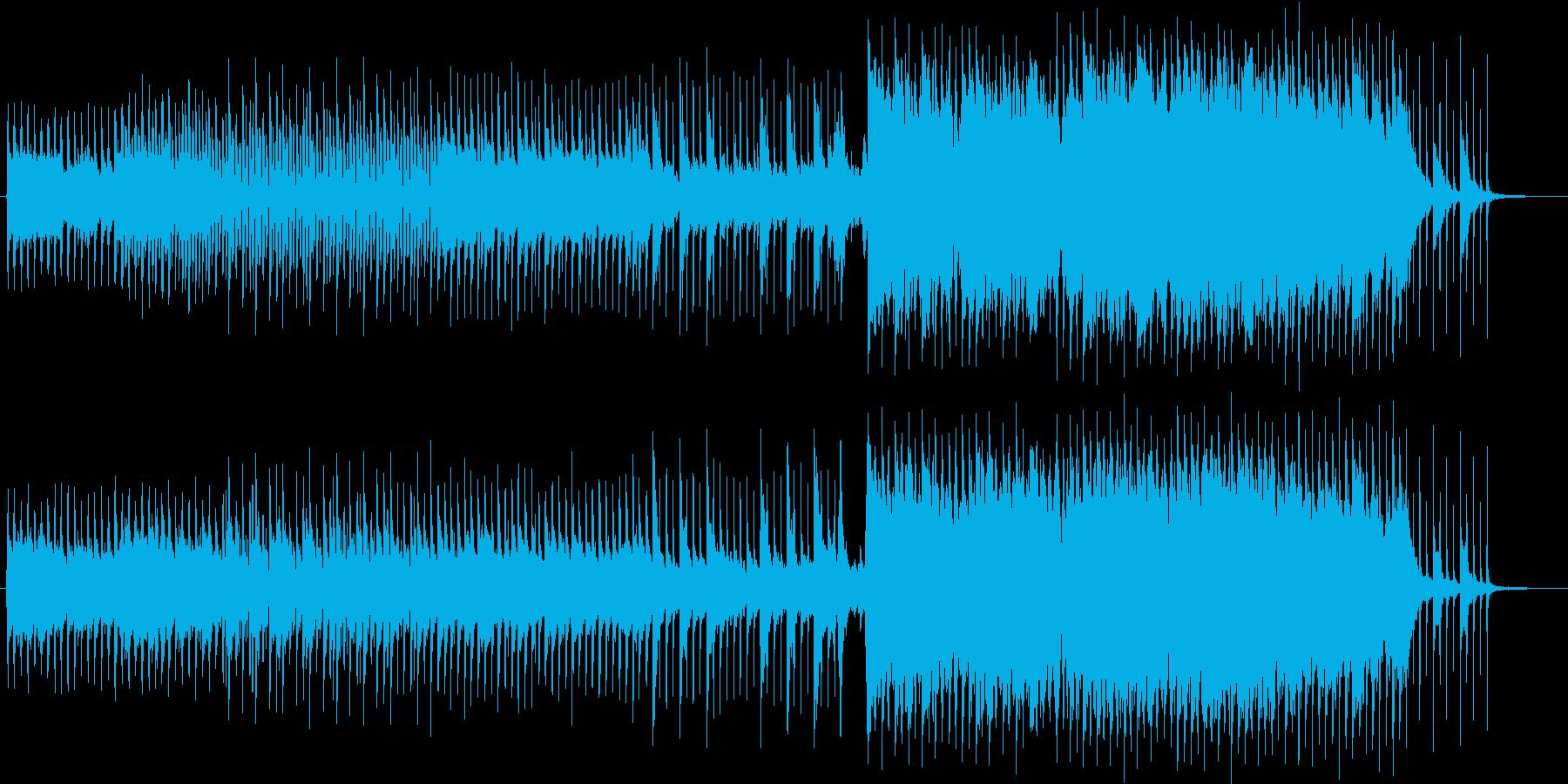 夜のドライブの再生済みの波形