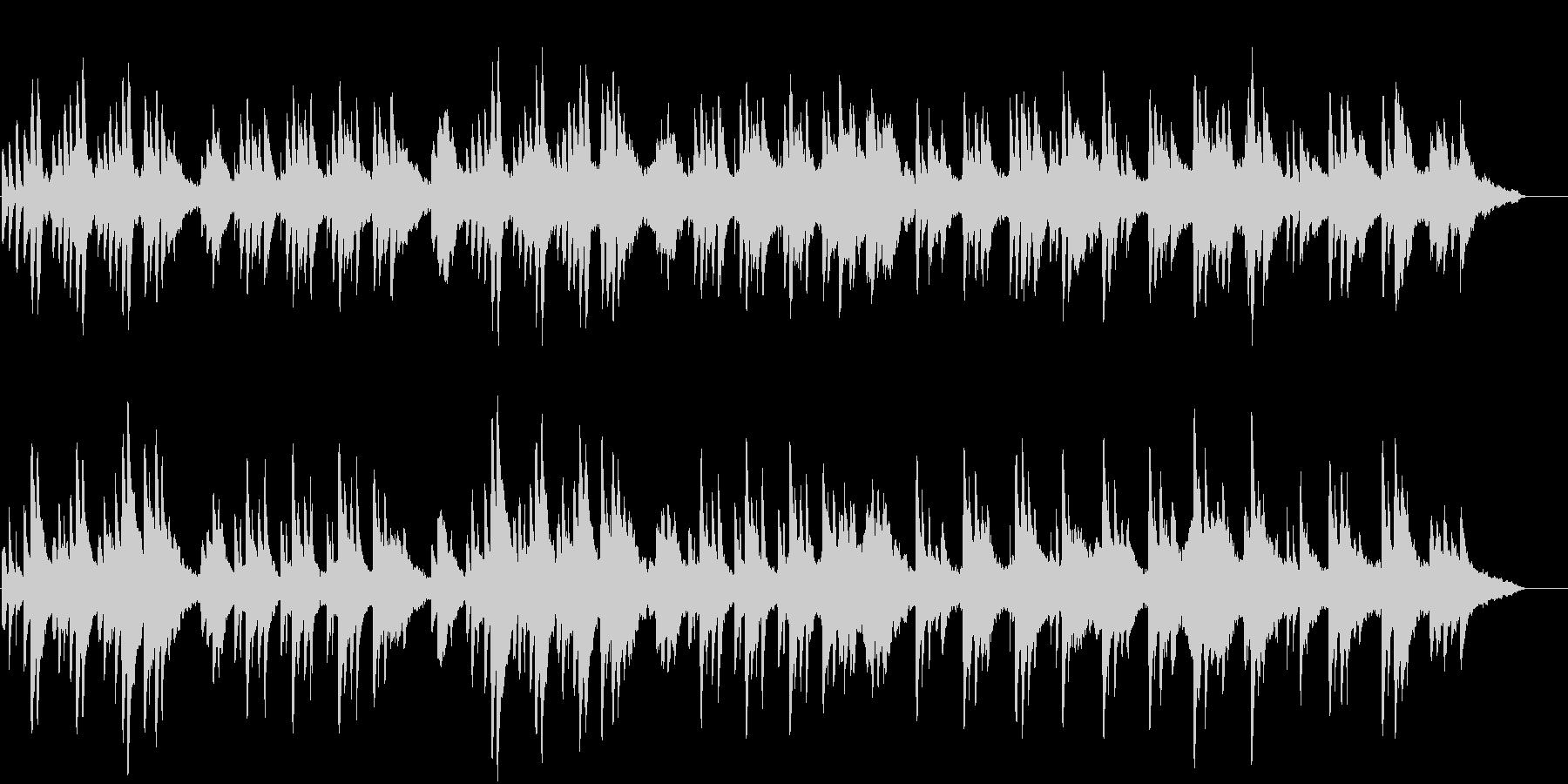 ピアノとストリングスの優しい曲02の未再生の波形