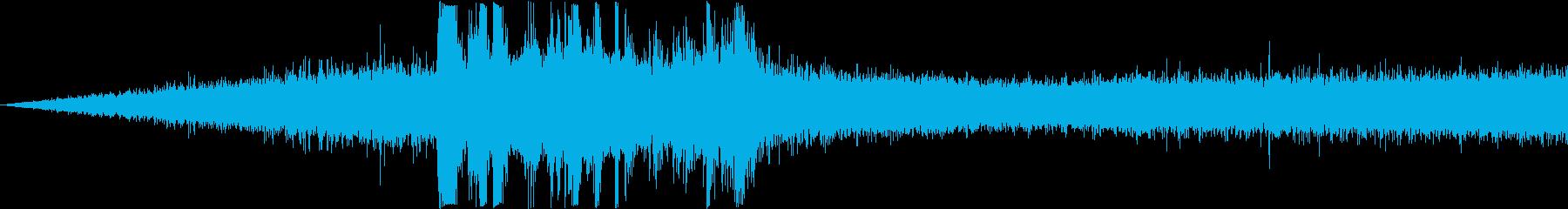 雨音と雷 F.I.の再生済みの波形