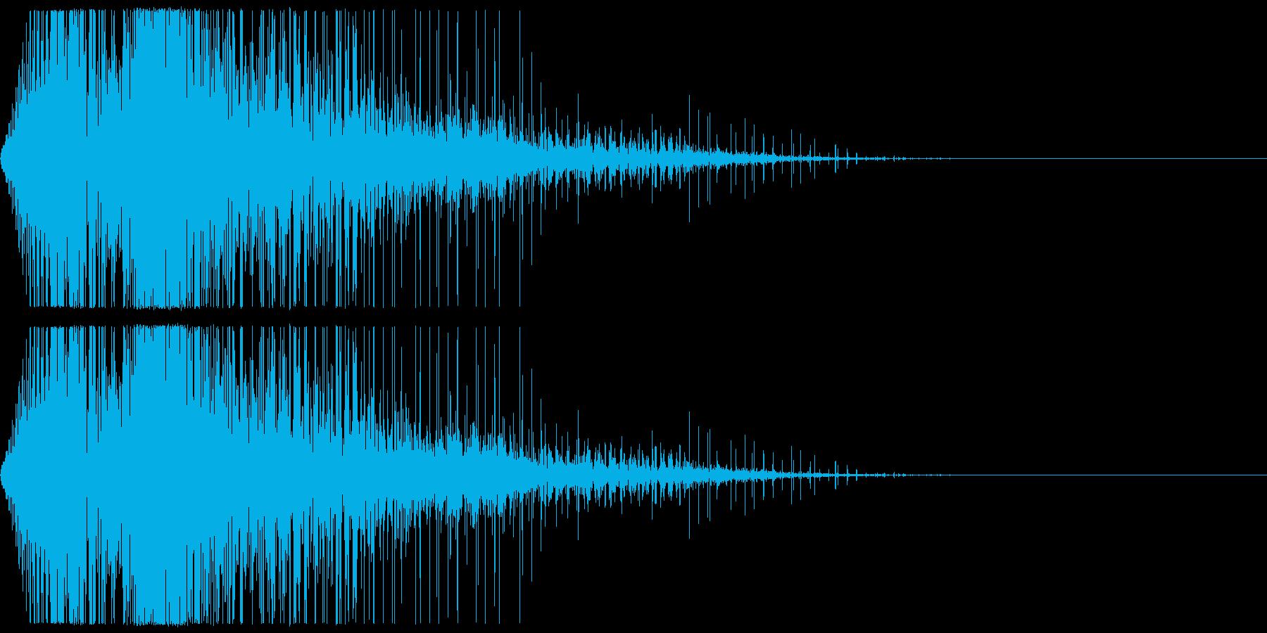 メカ、ロボットなどの挙動(関節の動きな…の再生済みの波形