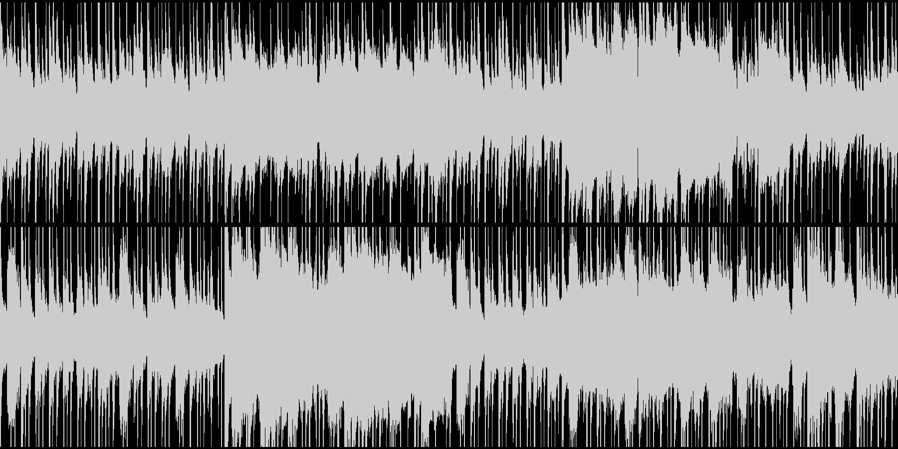 中東テイストのBGM(ループ)の未再生の波形