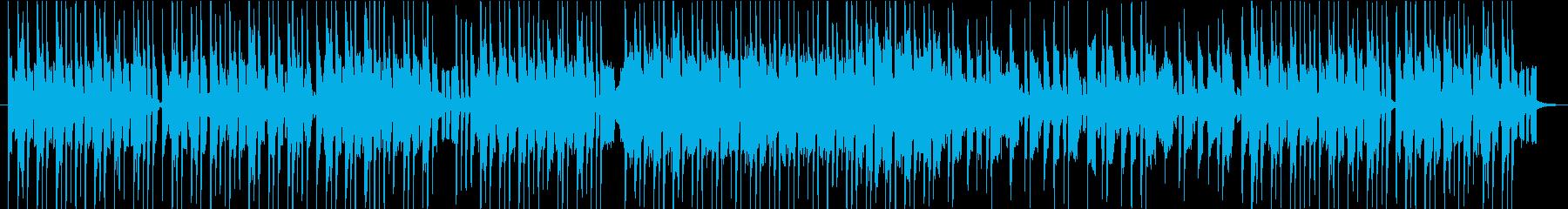 耳に残るオルガン&シンセのコミカルBGMの再生済みの波形