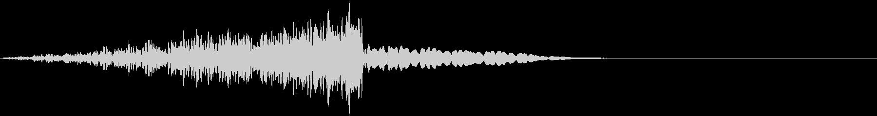 劇中のノイズの未再生の波形