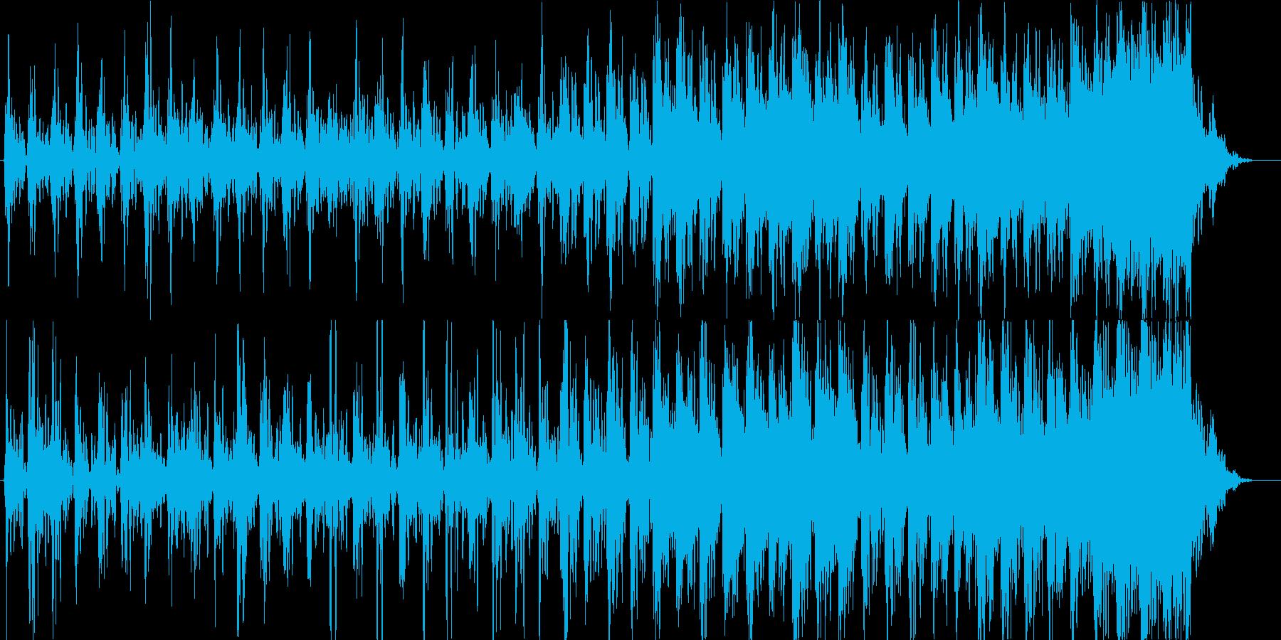 水面の光をイメージしたエレクトロニカの再生済みの波形