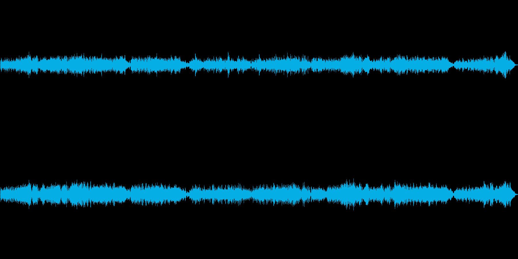 ショパンの名曲・子犬のワルツをピアノ演奏の再生済みの波形
