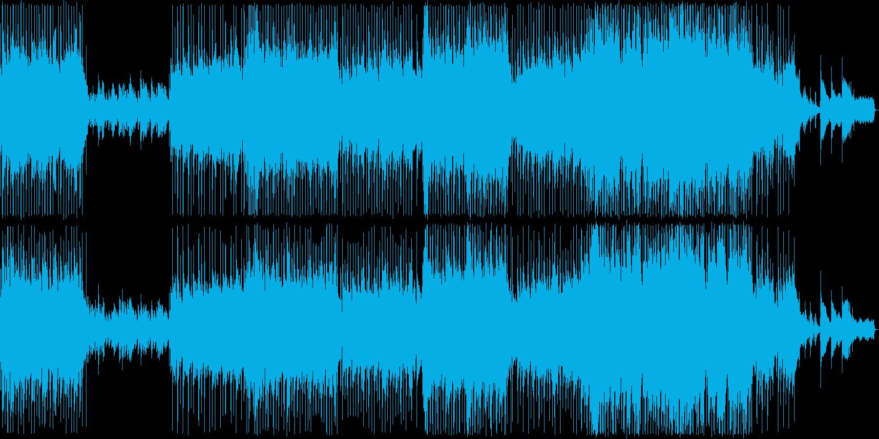 ハーモニカが印象的な哀愁的なバラードの再生済みの波形