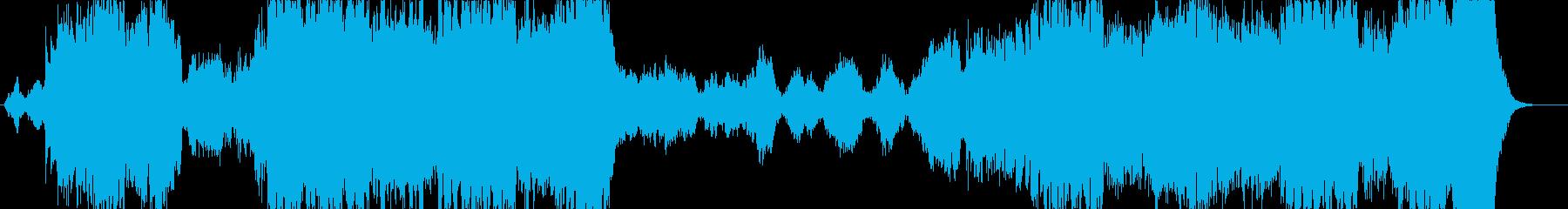 ファンタジー映画風オーケストラ 旅立ちの再生済みの波形