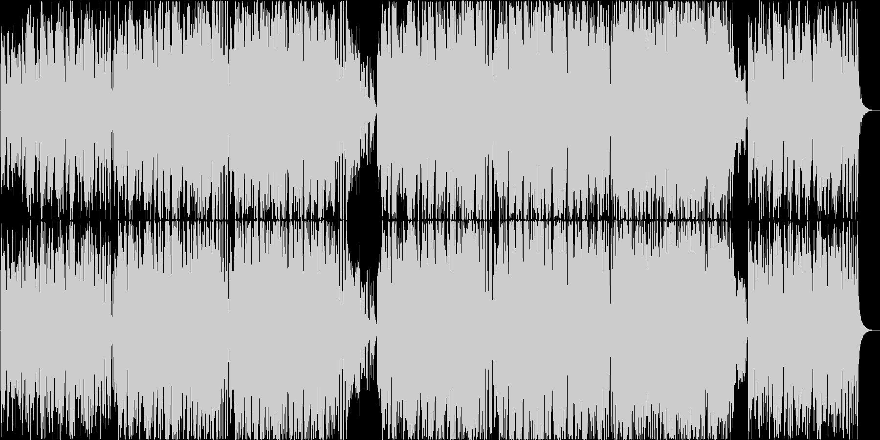 落ち着いた雰囲気のサックスのボサノヴァの未再生の波形
