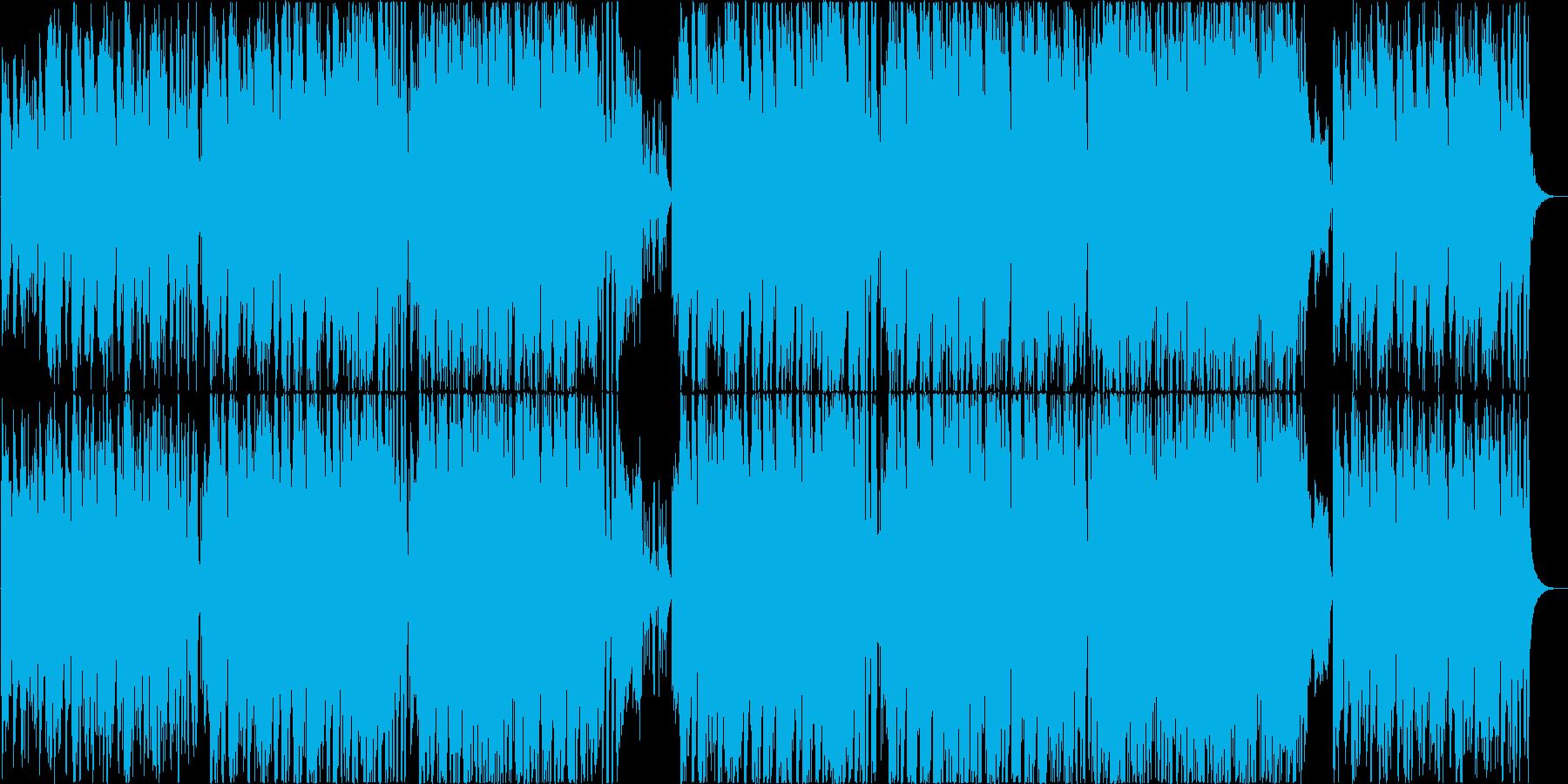 落ち着いた雰囲気のサックスのボサノヴァの再生済みの波形