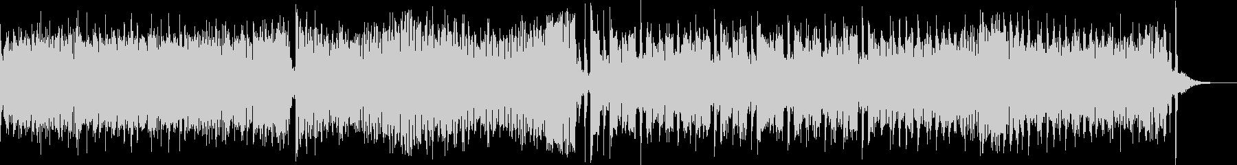 ホラーテイストのワルツの未再生の波形