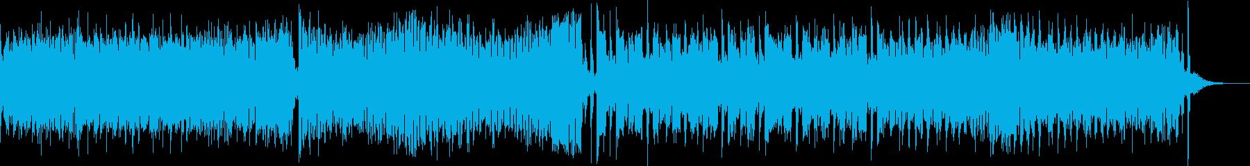 ホラーテイストのワルツの再生済みの波形