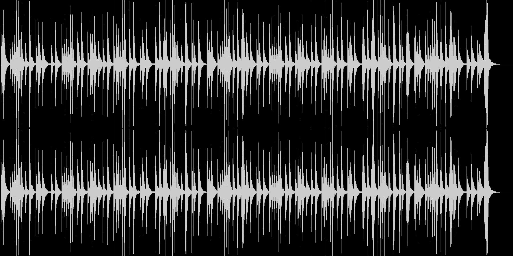 朧月夜_オルゴールアレンジの未再生の波形