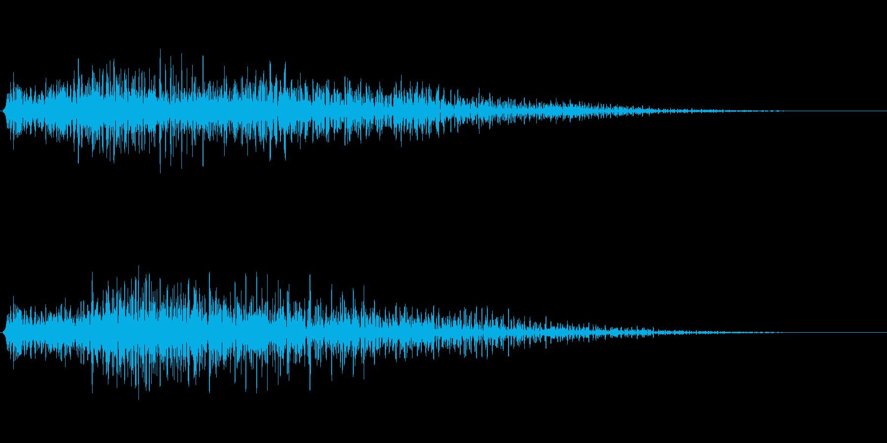 ゴージャスな決定音3の再生済みの波形