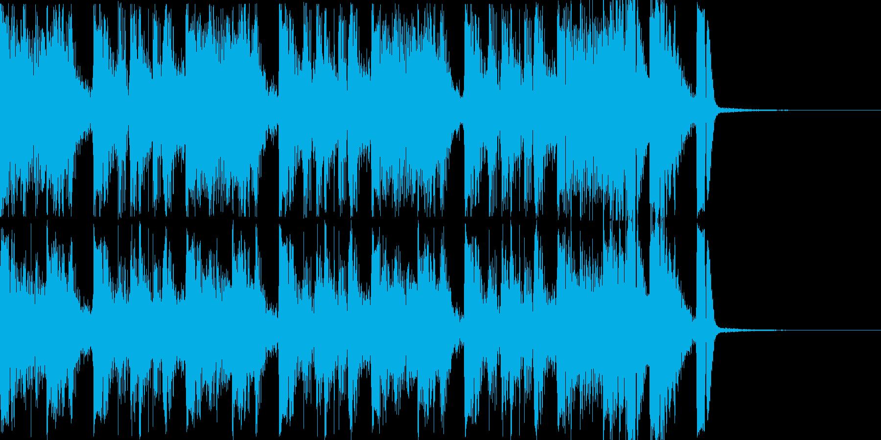 アジトの様子的なジングルの再生済みの波形