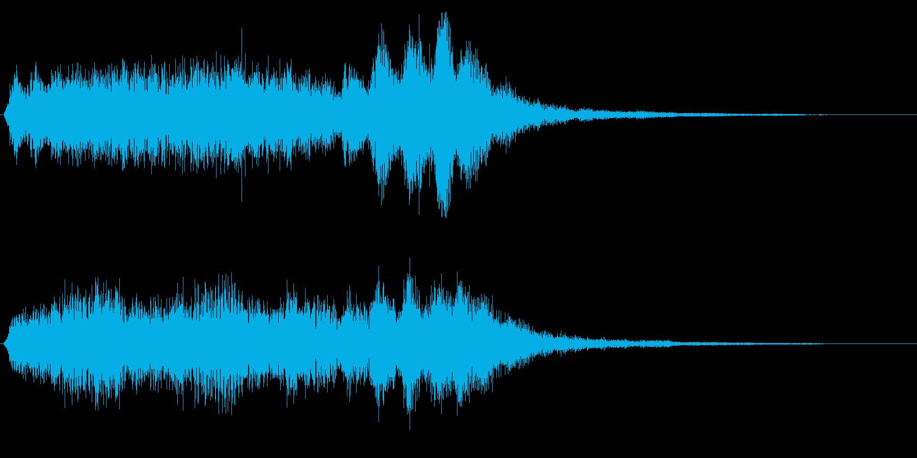 バイオリン系の場面転換 CMイン 切替の再生済みの波形