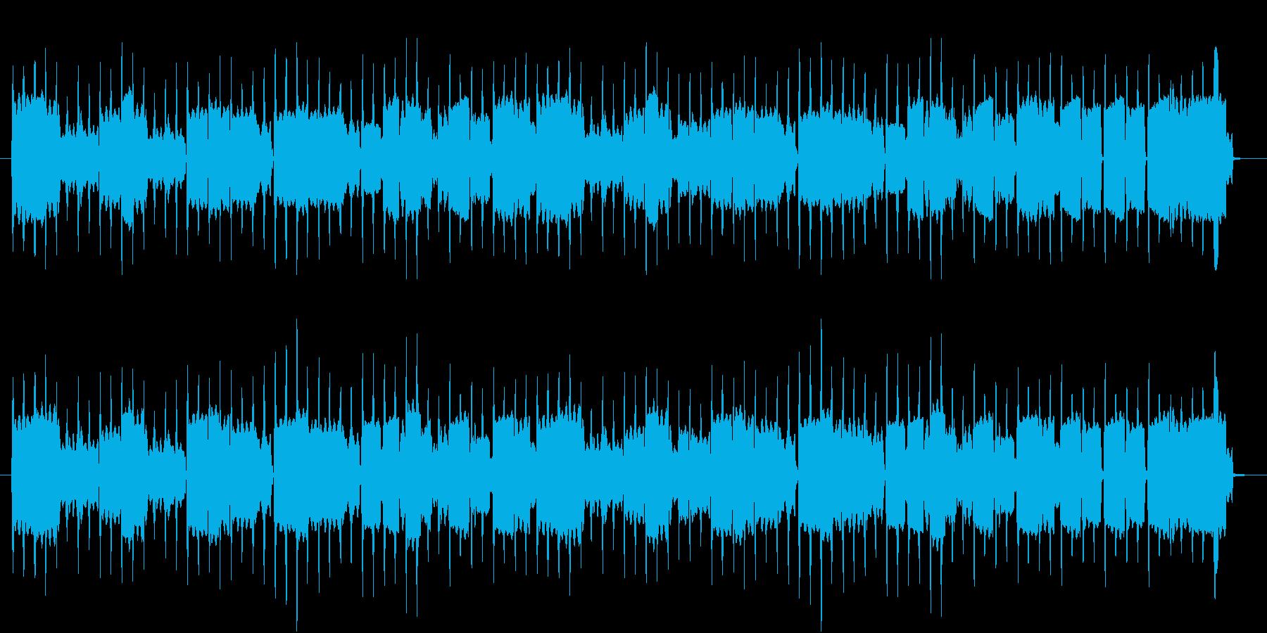 リコーダーの曲でほのぼの系の再生済みの波形