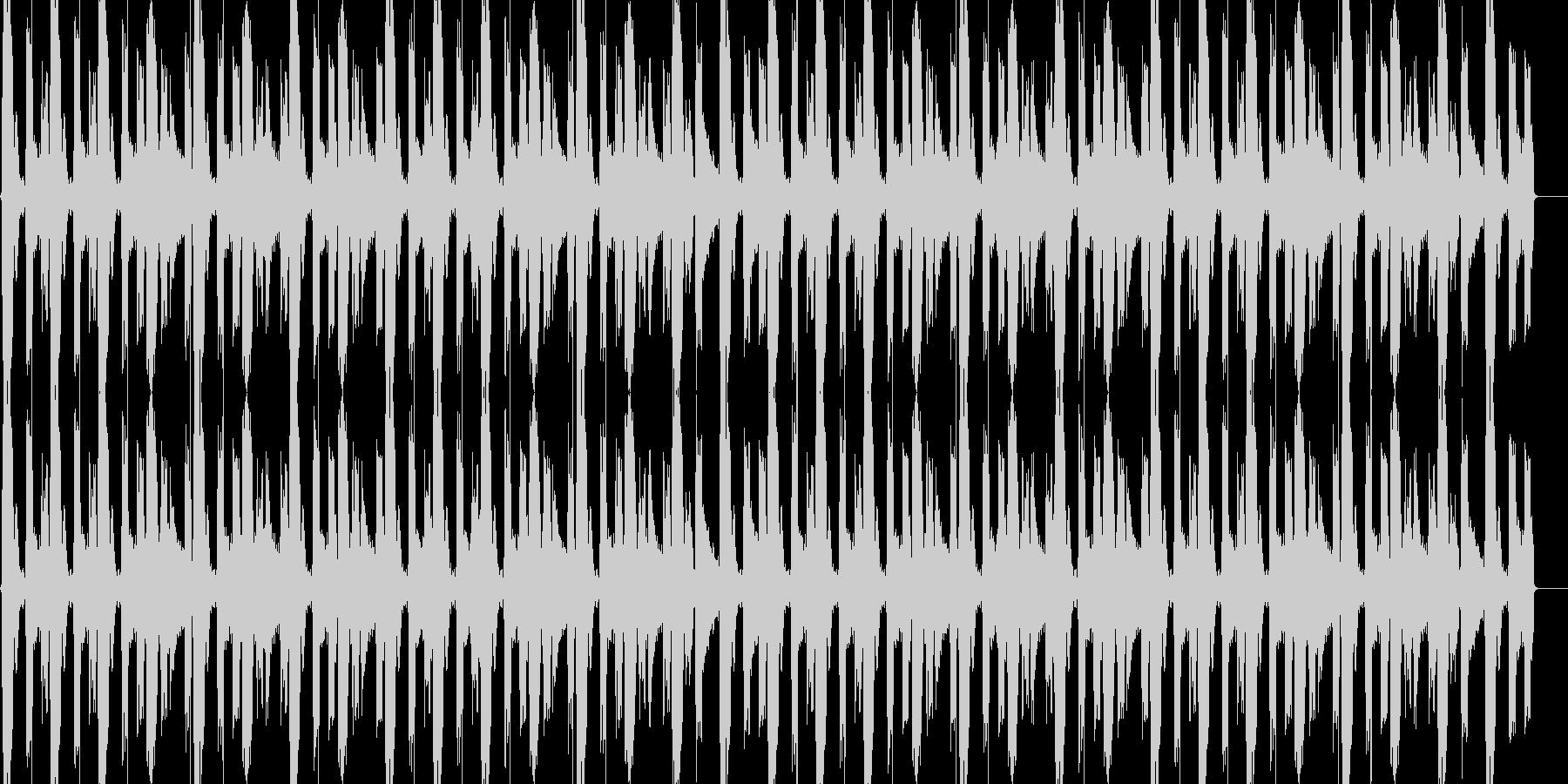 LOOP用ドラムの未再生の波形