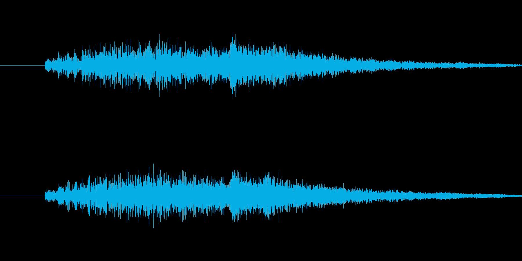 ダラリラリラリラリンの再生済みの波形