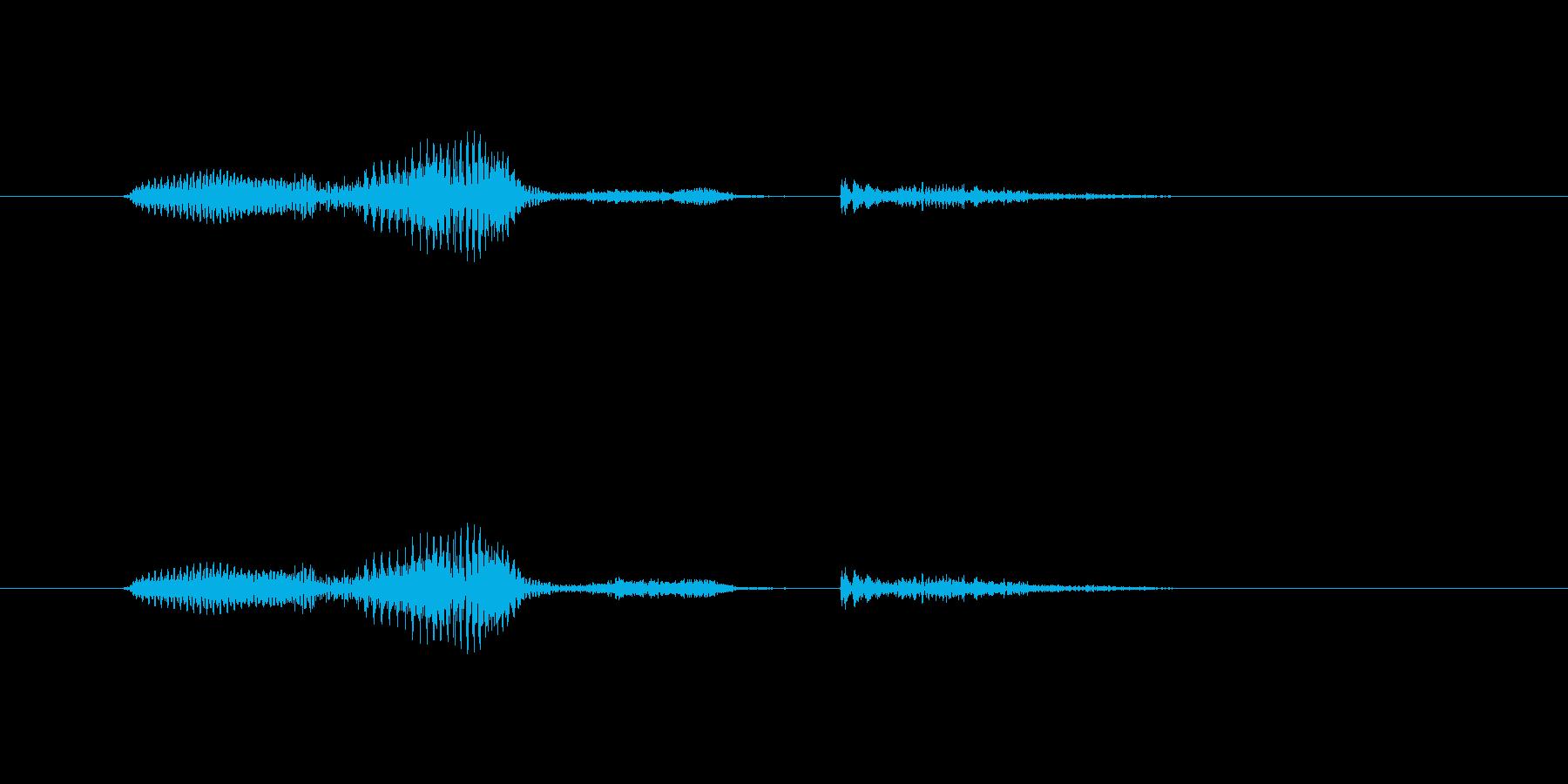 マジかの再生済みの波形