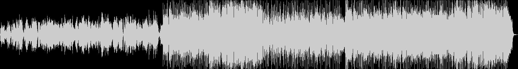 オーボエを旋律としたバラードの未再生の波形