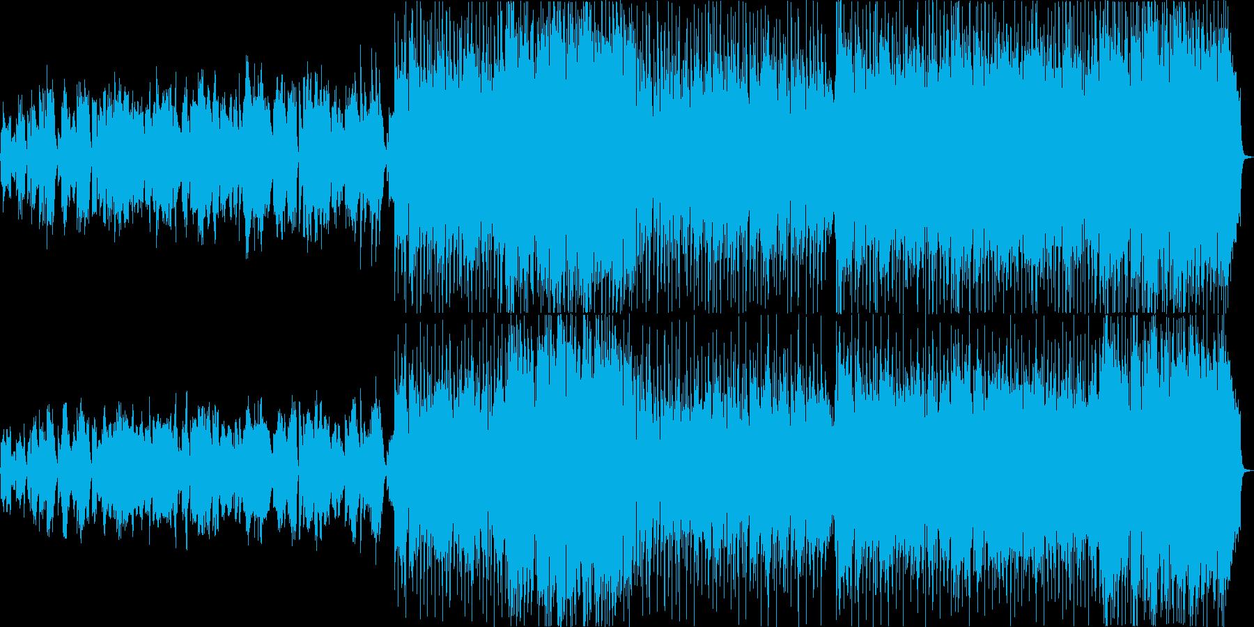 オーボエを旋律としたバラードの再生済みの波形