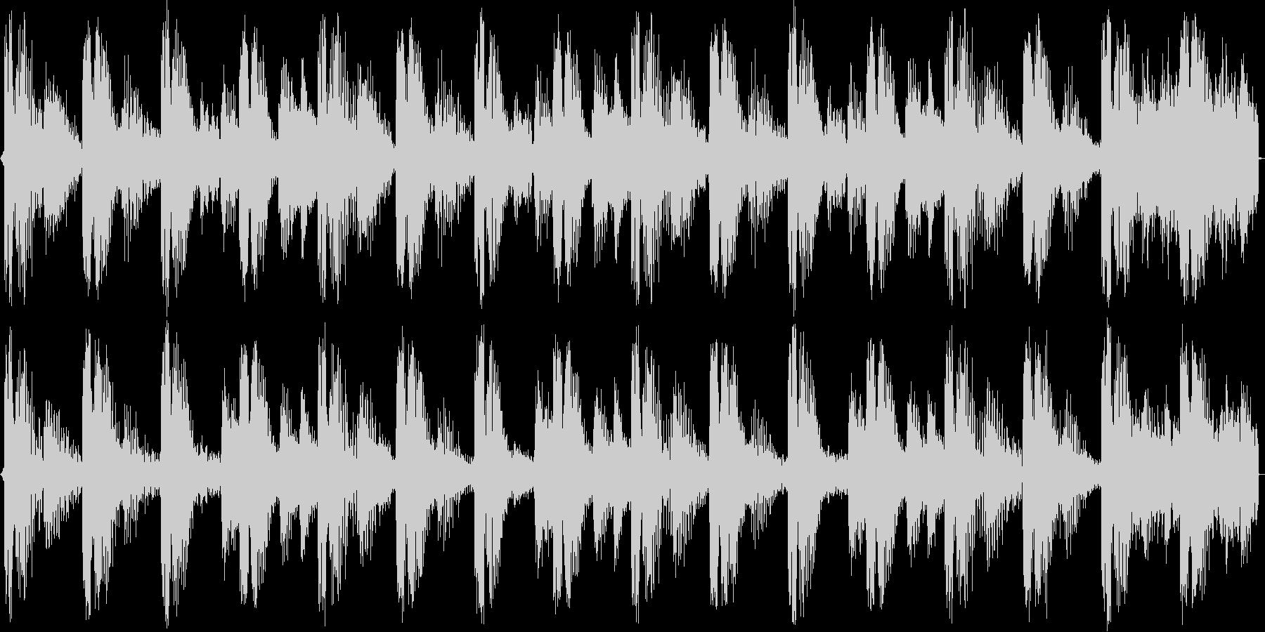 少し大人っぽい雰囲気の4小節ループの未再生の波形