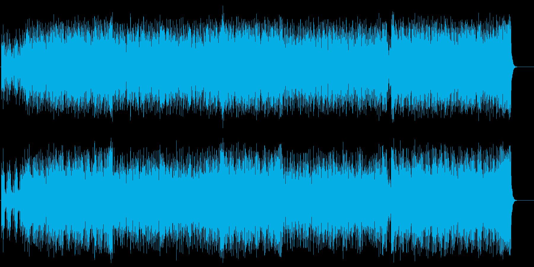 明るい歌謡曲風エレクトリック・ポップスの再生済みの波形