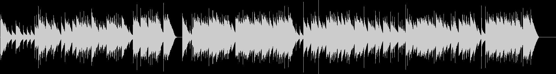 バッハ G線上のアリア オルゴールの未再生の波形