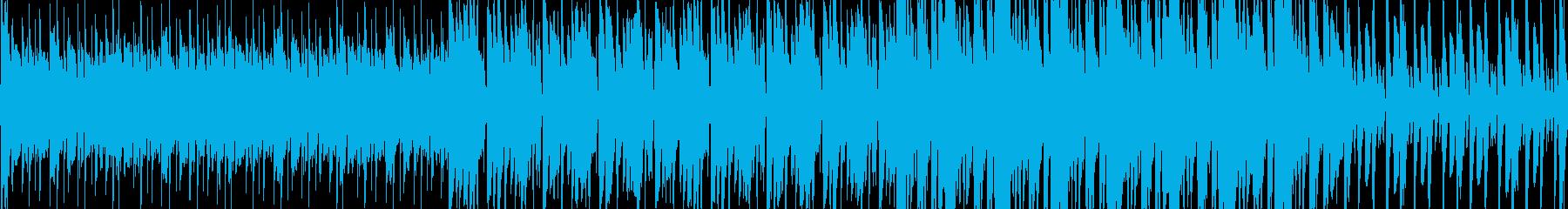 民族的、砂漠的なラテン系フォルクローレの再生済みの波形