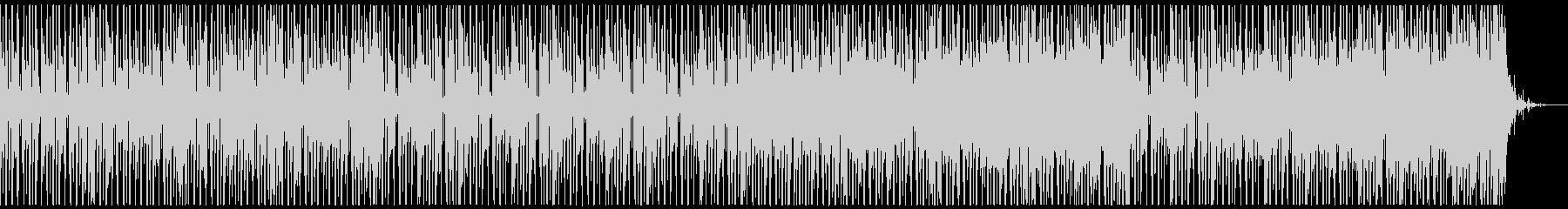 楽しく、コミカルなBGM(ドラム有り)の未再生の波形