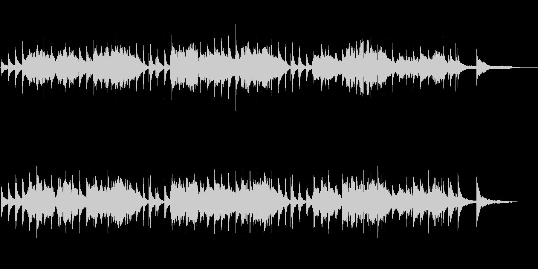 切なさ溢れるメロディ フォーレ作曲 秘密の未再生の波形