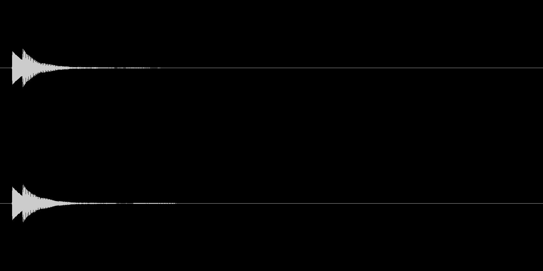 【ひらめき04-4】の未再生の波形