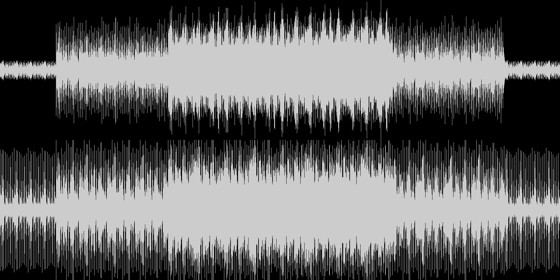 キテレツ初詣の未再生の波形