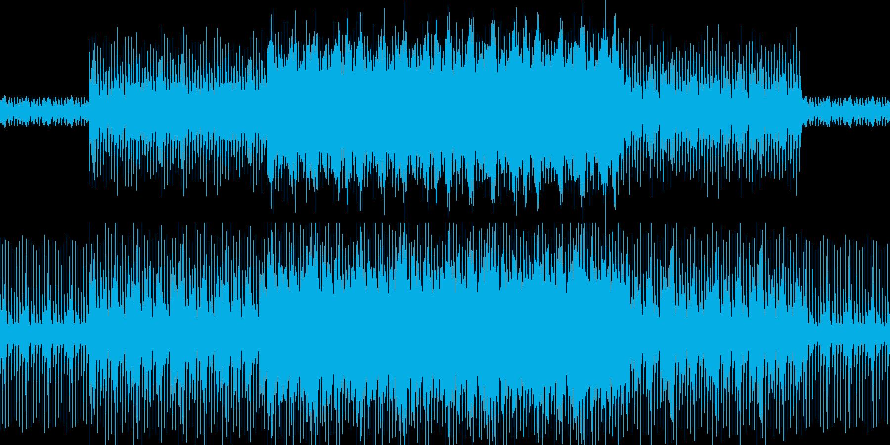 キテレツ初詣の再生済みの波形