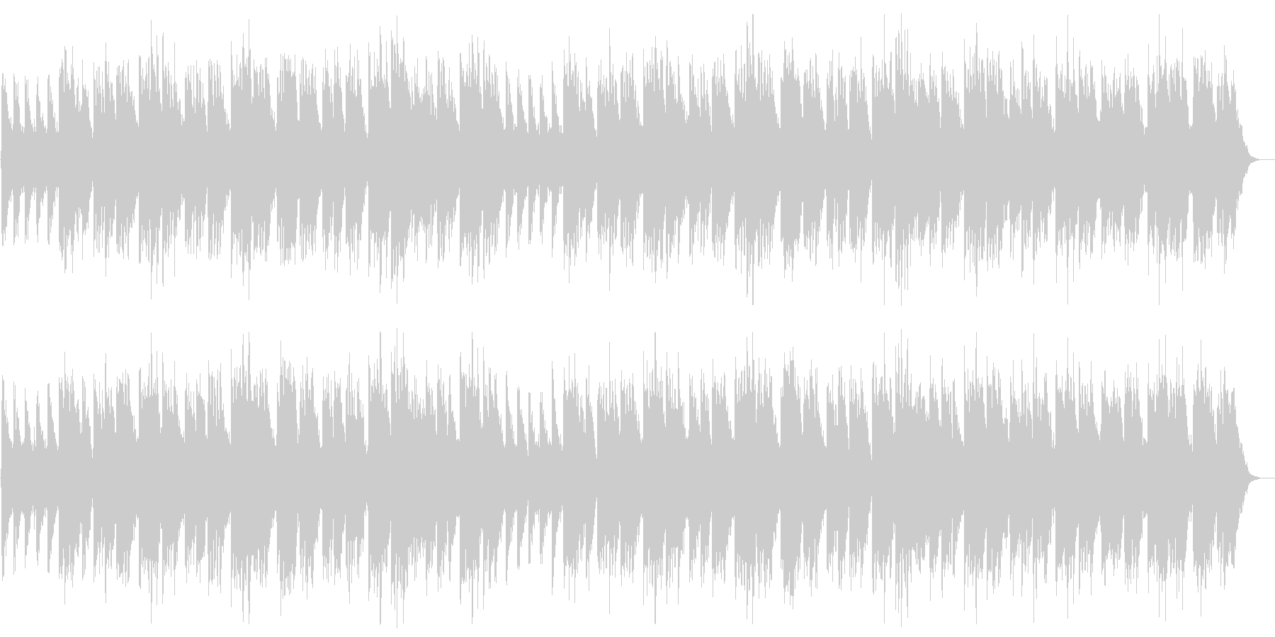 ジョリー・オールド・セント・ニコラスの未再生の波形