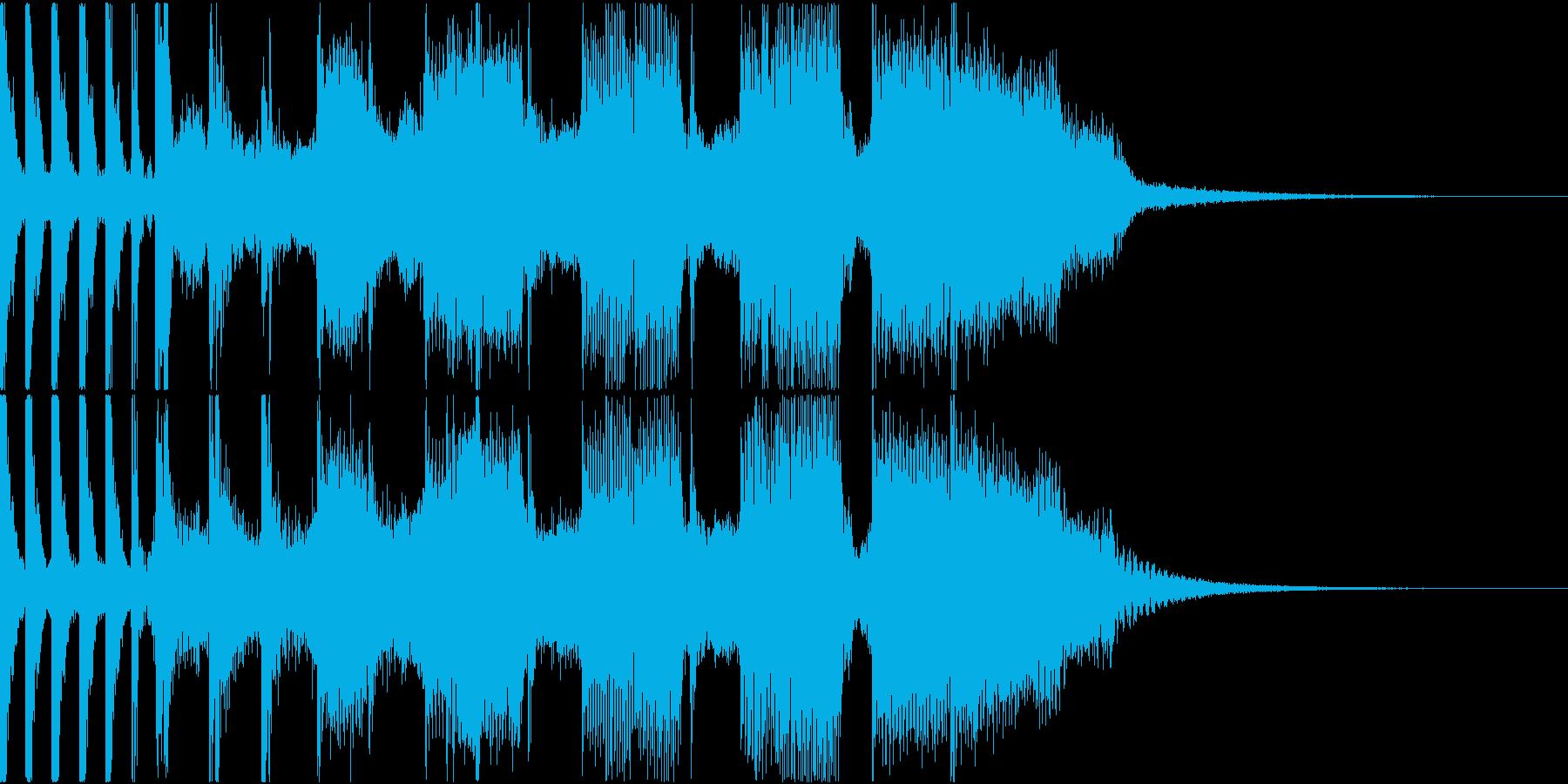 コーナータイトル_ROCK_70Sの再生済みの波形