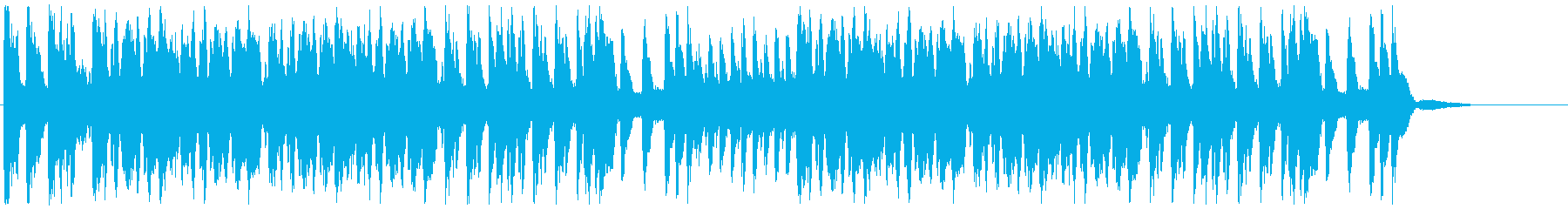 吹奏楽:応援マーチ(手拍子・声援あり)の再生済みの波形