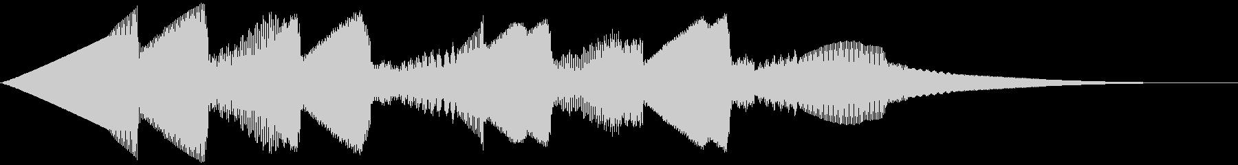 5秒CM用、ほのぼの家族verAの未再生の波形