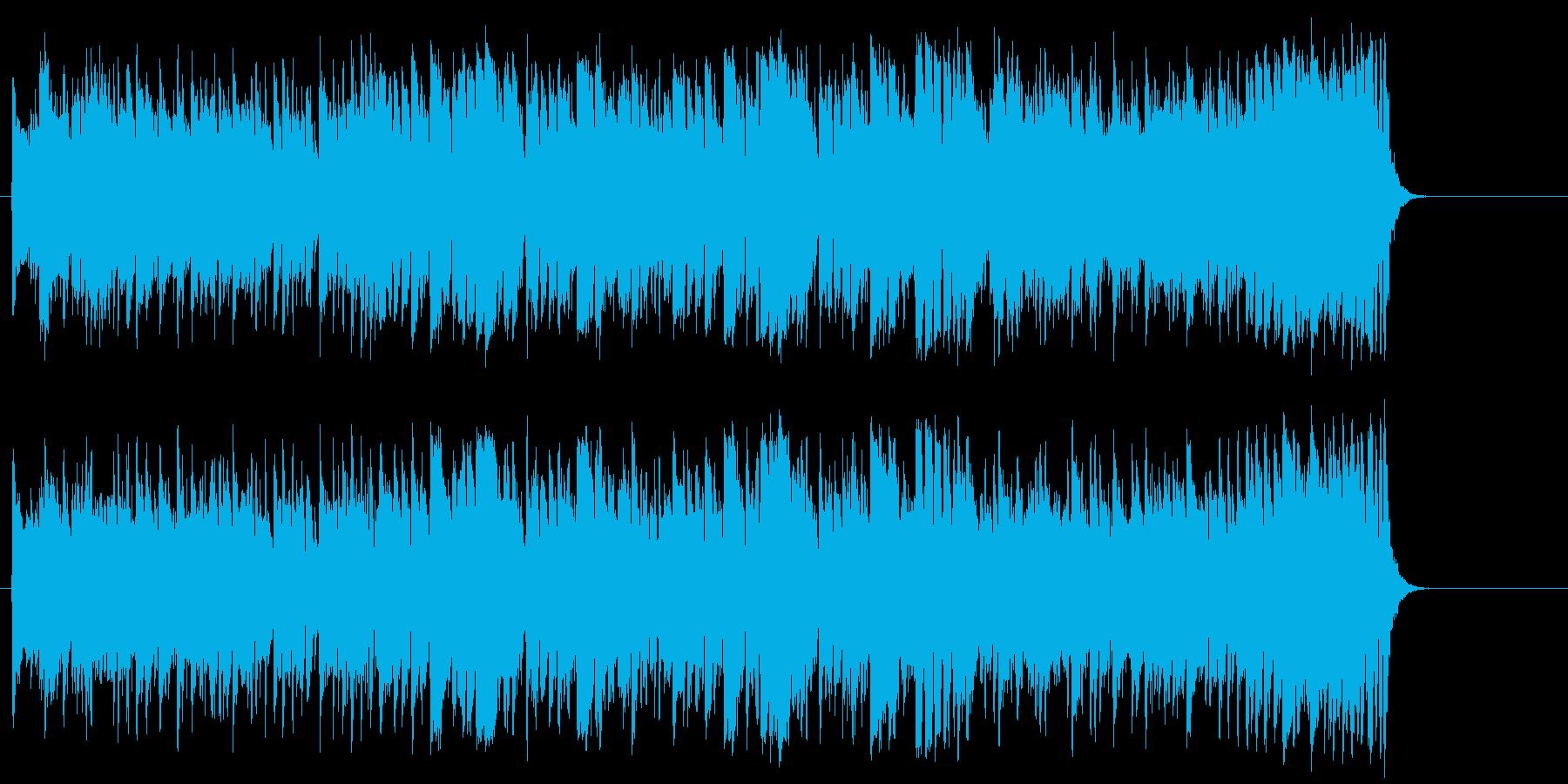 オープニング ドライブ 軽快 イベントの再生済みの波形