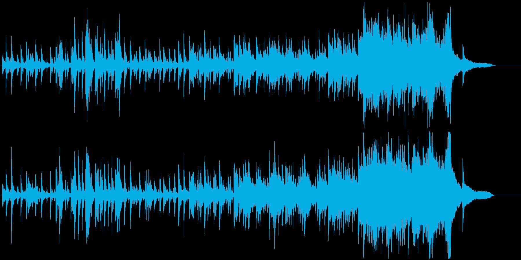 ストリングスが軽快で爽やかなBGMの再生済みの波形
