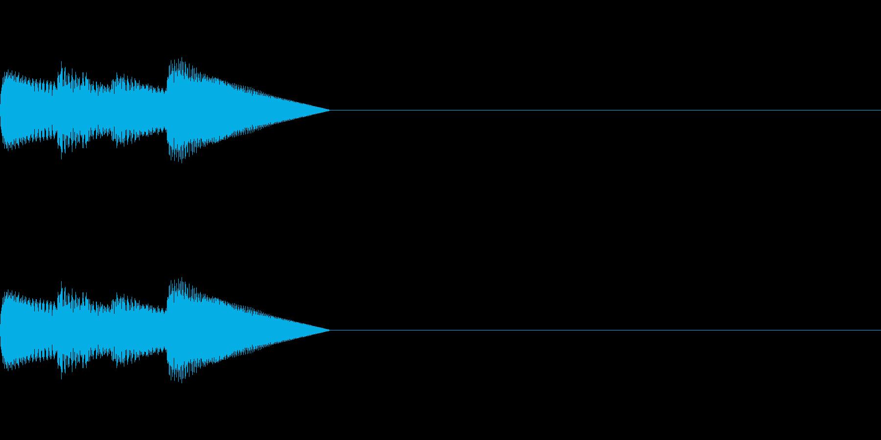 「ピロピロ♪」レトロゲーム風アイテムの再生済みの波形