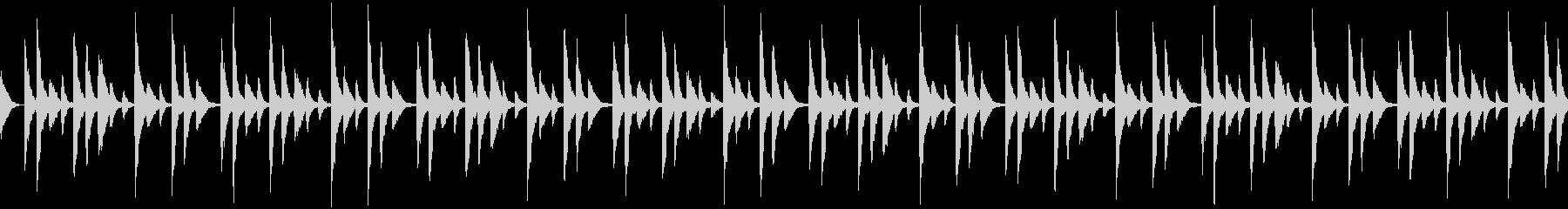 ラテン songo リズムパターン の未再生の波形