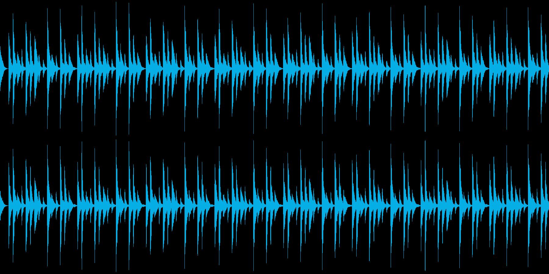 ラテン songo リズムパターン の再生済みの波形