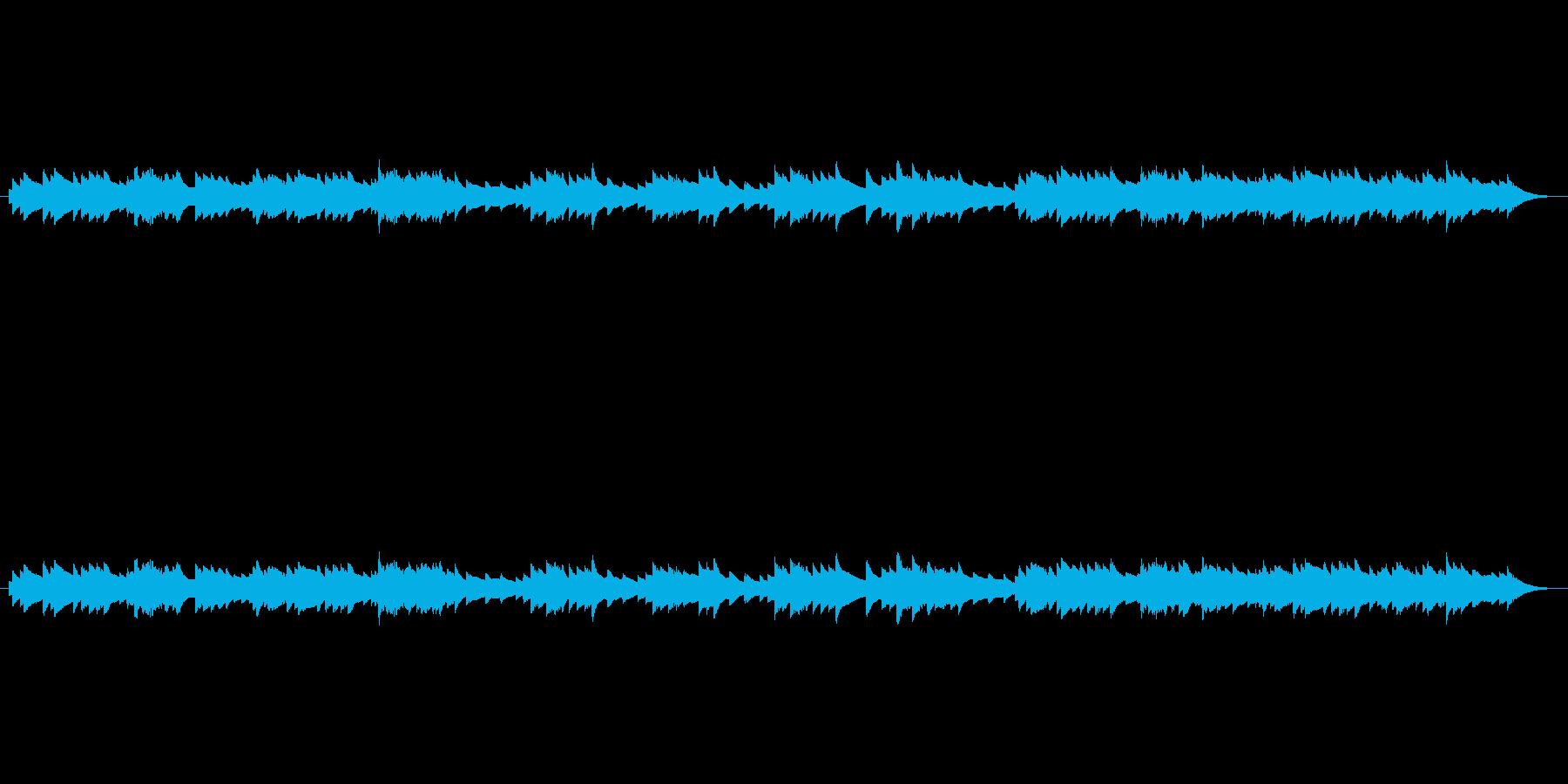 ほっとするバラードの再生済みの波形