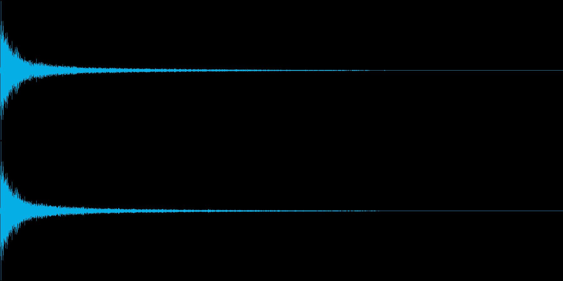 AnimeFX ハッと何かに気づくSEの再生済みの波形