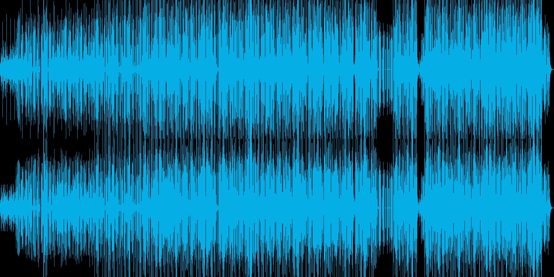 脳天気なほのぼの夏向きレゲエチューン。の再生済みの波形