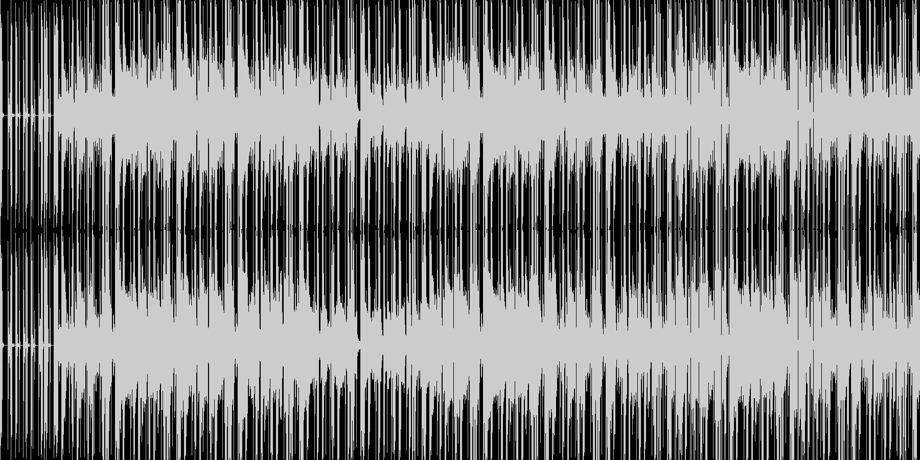 和風なダンスナンバーの未再生の波形
