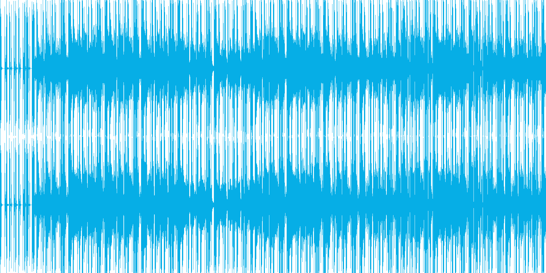 和風なダンスナンバーの再生済みの波形
