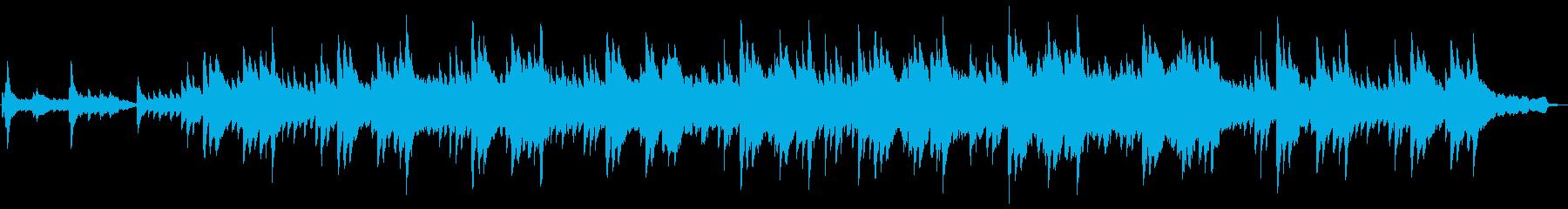 しっとり3拍子の鍵盤ハーモニカとピアノの再生済みの波形